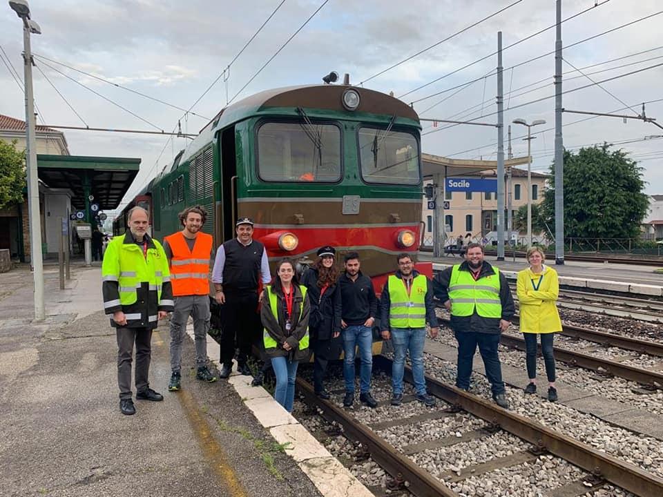 Squadra Operativa Friulana ARSMS attiva sui treni della Regione Friuli Venezia Giulia!