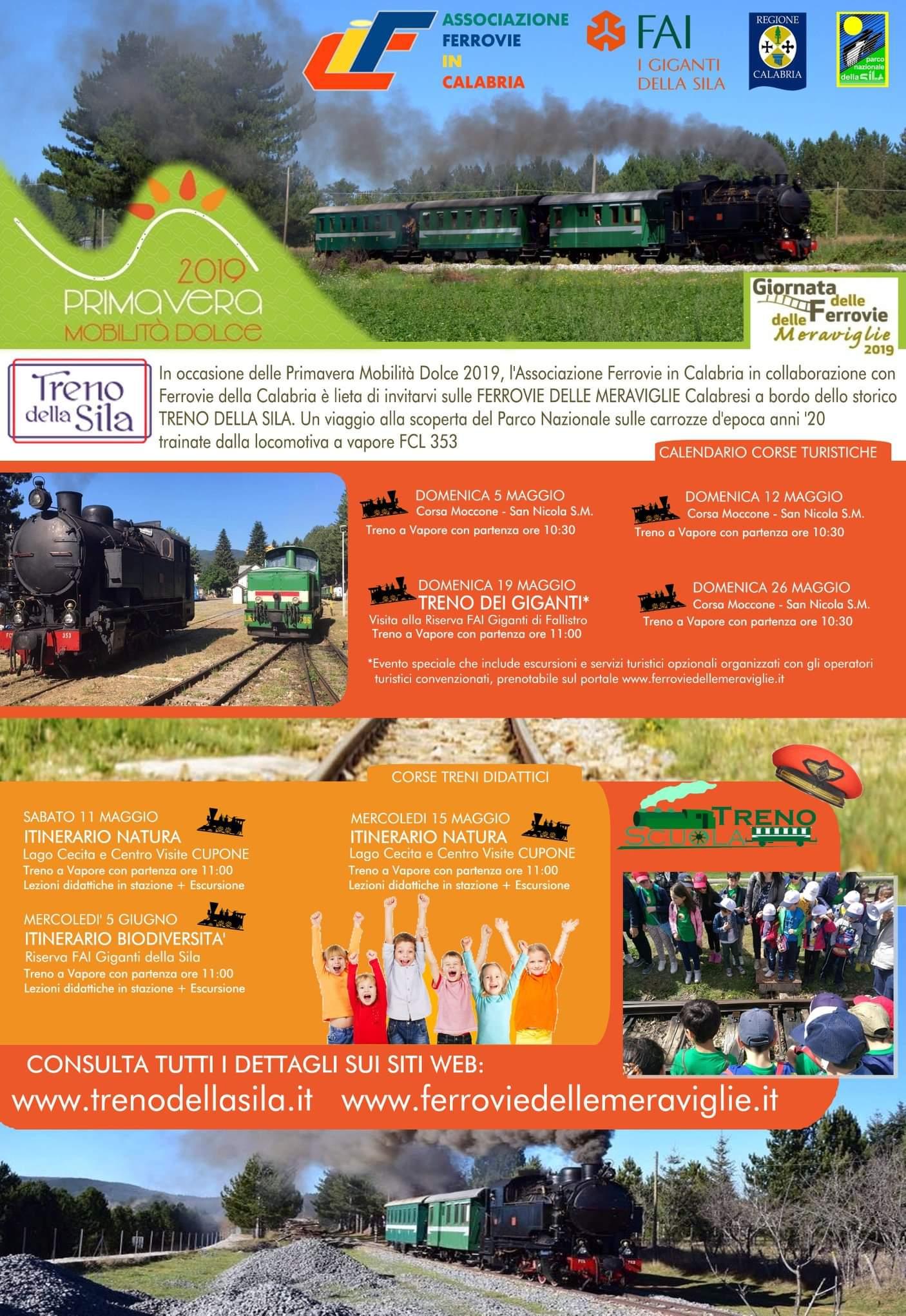 La Giornata delle Ferrovie delle Meraviglie in Calabria