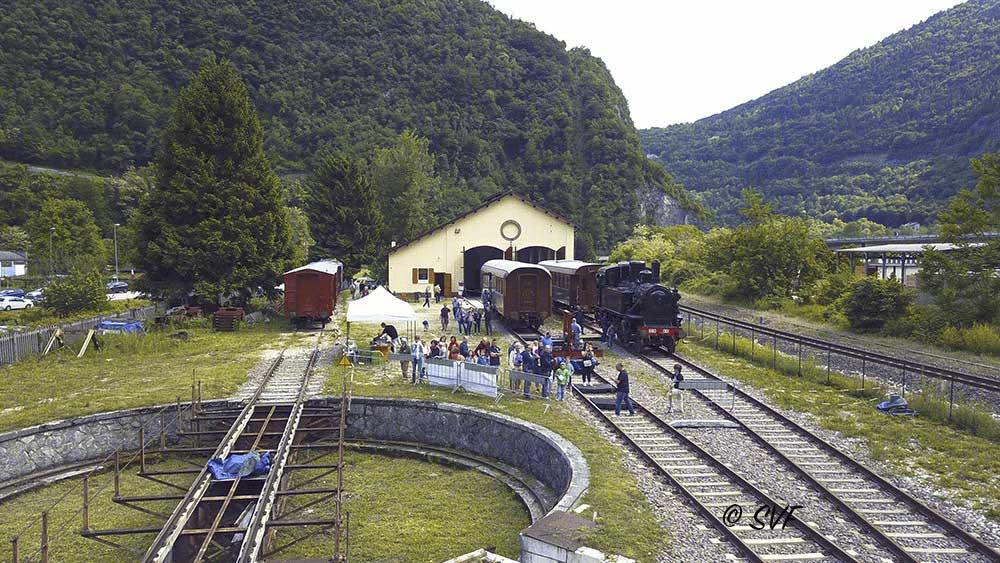 Porte Aperte alla Rimessa Locomotive di Primolano di Valbrenta (Vi)