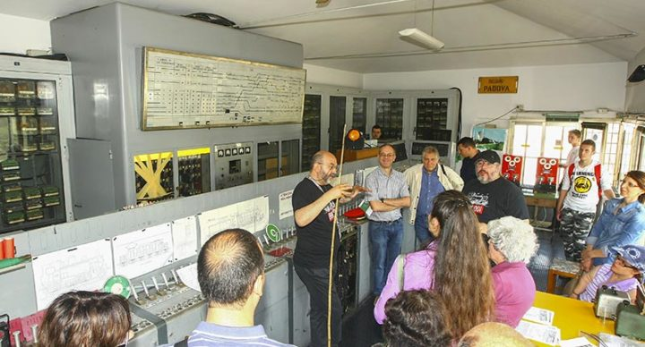 Porte aperte alla ex-cabina A della stazione di Padova