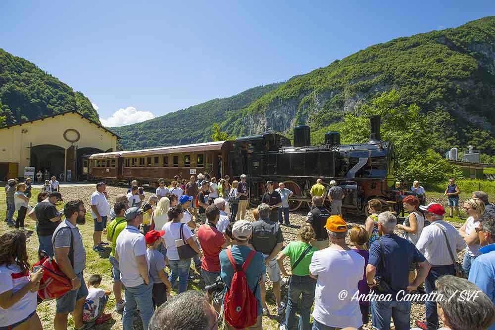 Primolano (VI): Porte Aperte alla Rimessa Locomotive