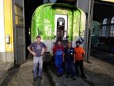 ARSMS: avanti con i lavori di levigatura a Luino!
