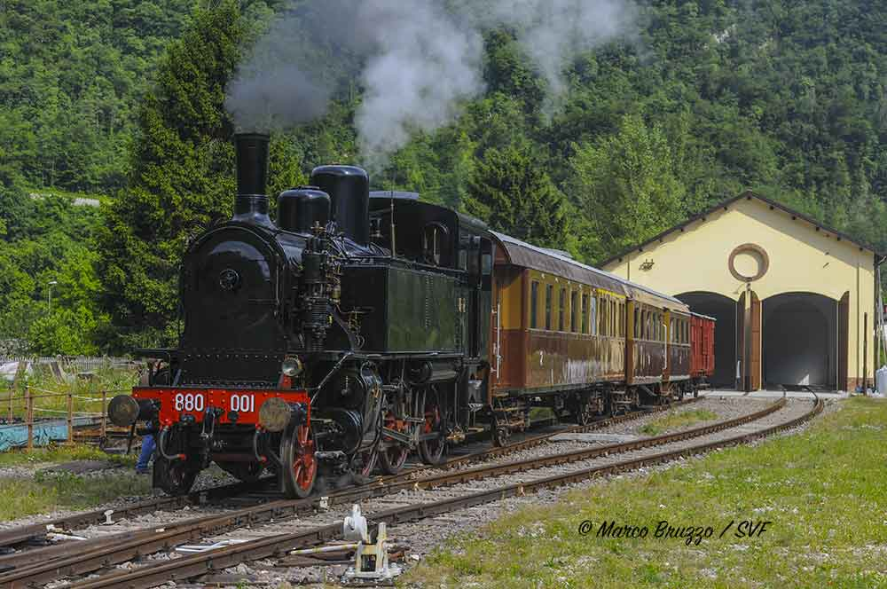 Primolano (VI): Porte Aperte alla Rimessa Locomotive il 13 ottobre 2019